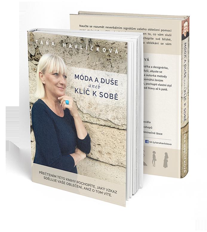 Kniha Móda a duše aneb klíč k sobě Táňa Havlíčková
