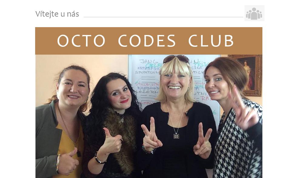 Nákupy s Táňou Havlíčkovkou - OCTO CODES CLUB