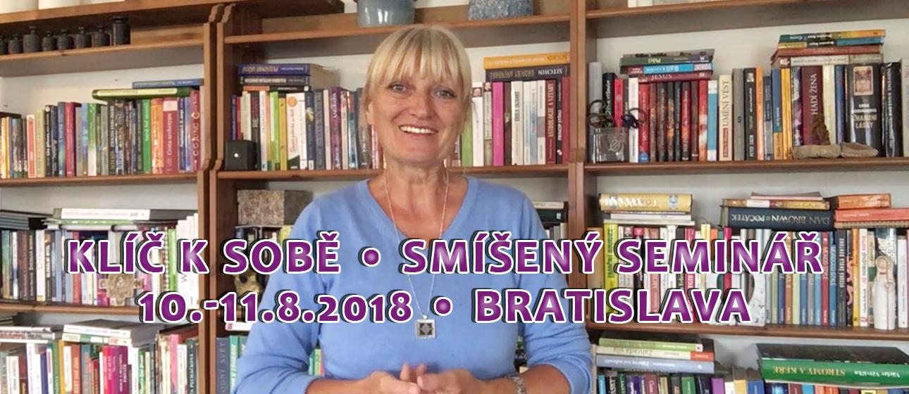 Táňa Havlíčková seminář Bratislava