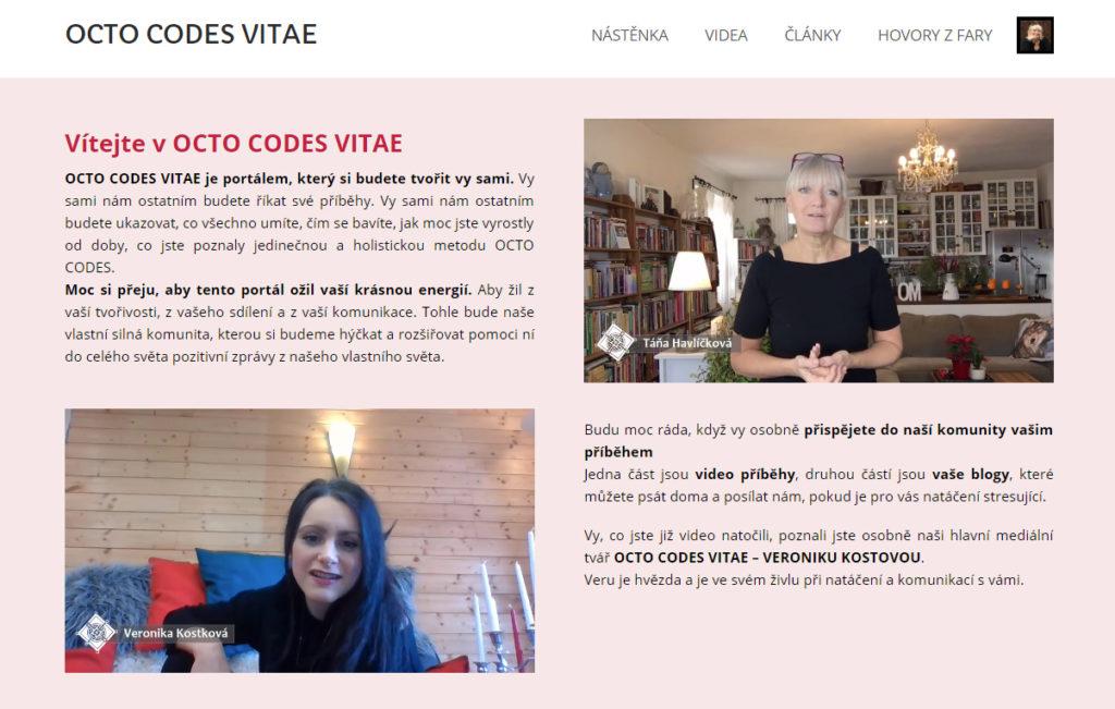 OCTO CODES VITAE - Táňa Havlíčková